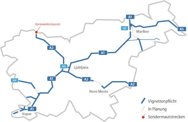 Maut Slowenien Preis Strafen Gultigkeit Autowelt